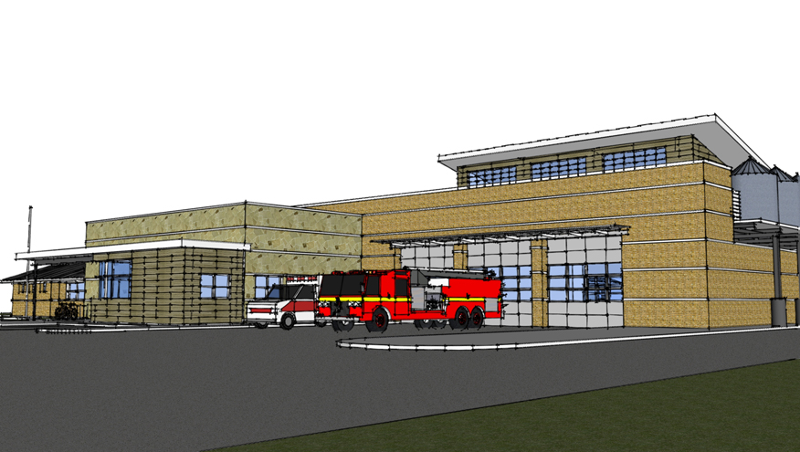 rowlett fire station #2 | bmarchitects